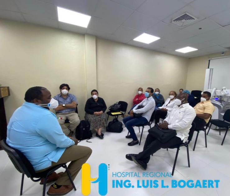"""Hospital Ing. Luis L. Bogaert recibe visita programática del  Proyecto """"HS3"""" y CEPROSH"""