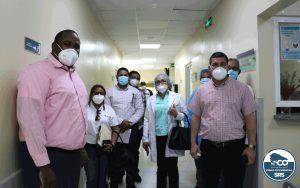 HOSPITAL REGIONAL ING. LUIS L. BOGAERT recibe Donación del African Field Epidemiology Network (AFENET)