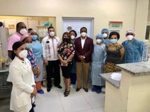 HOSPITAL REGIONAL ING. LUIS L. BOGAERT RECIBE VISITA DE LA DIRECTORA DE LOS CENTROS HOSPITALARIOS DEL SNS Y LA REGIONAL DE SALUD CIBAO OCCIDENTAL