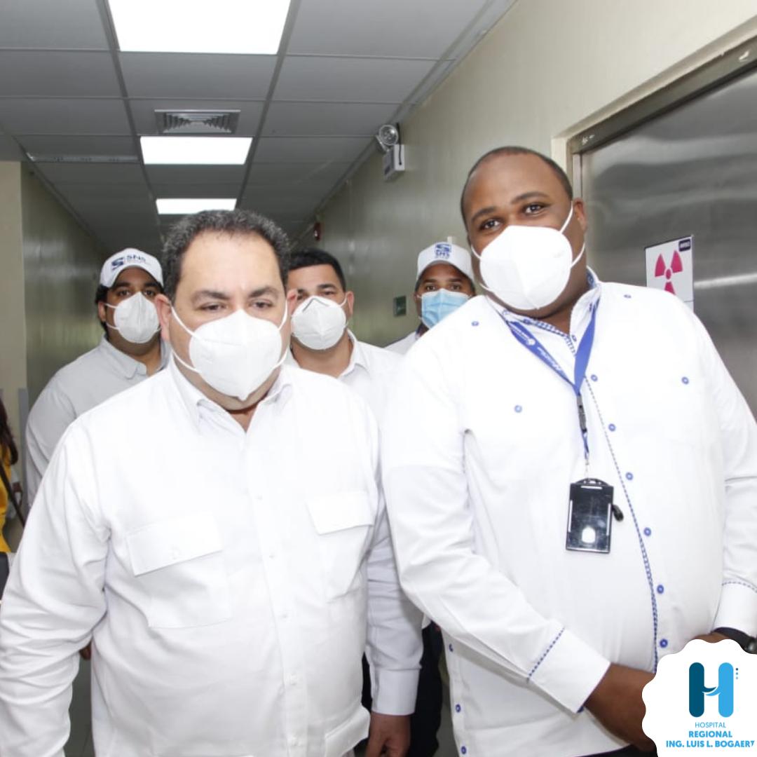 MARIO LAMA INAUGURA NUEVAS AREAS EN EL HOSPITAL REGIONAL ING LUIS L BOGAERT